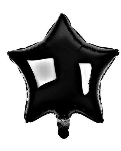 Magicoo Folieballon ster zwart - 48 cm