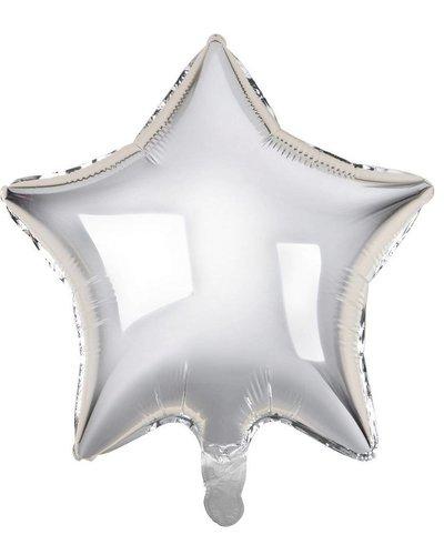 Magicoo Folieballon ster zilver - 48 cm