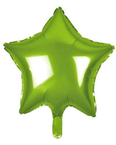Magicoo Folieballon ster groen - 48 cm