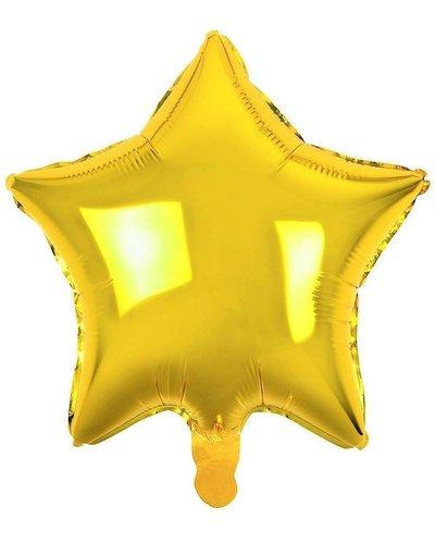 Magicoo Folieballon ster goud - 48 cm