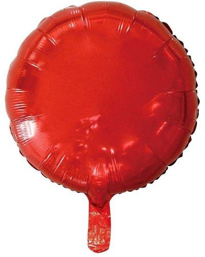 Magicoo Folieballon rood - 45 cm