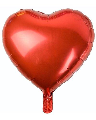 Magicoo Folieballon rood hart - 46 cm