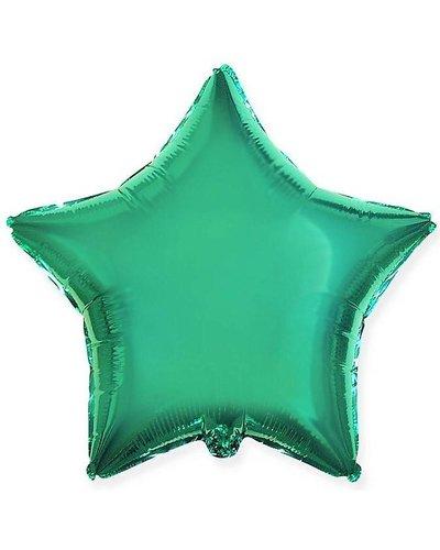 Magicoo Folieballon ster turquoise - 48 cm