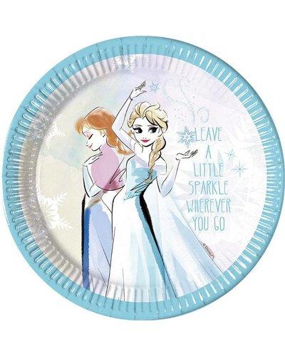 """Magicoo 8 borden Anna & Elsa """"Frozen Sparkle"""" - 23 cm"""