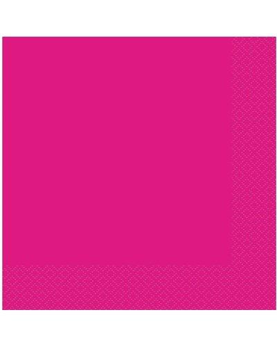 Magicoo 20 servetten roze pink  - 33x33 cm