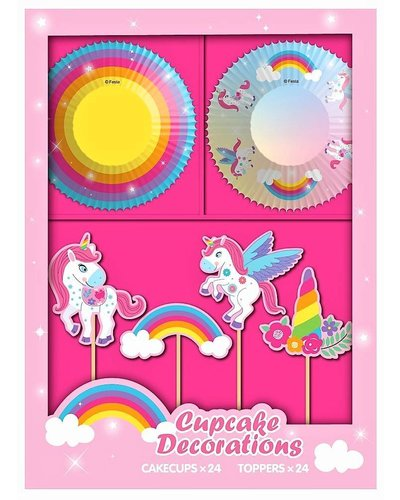 Magicoo 48  delig unicorn party set