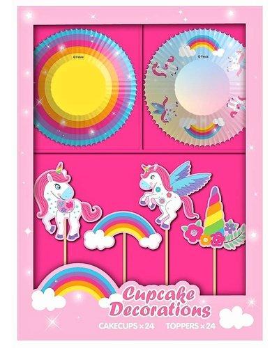 Magicoo 48  delig unicorn party set