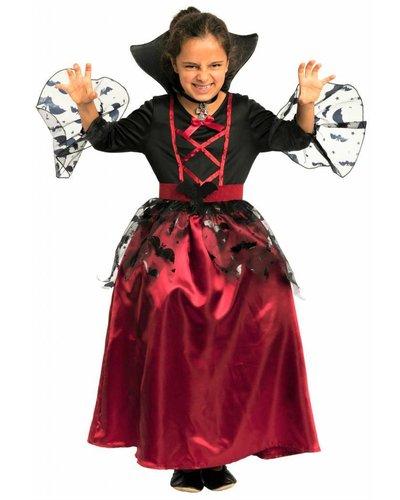 Magicoo Vleermuis koningin - vampier jurk voor meisjes