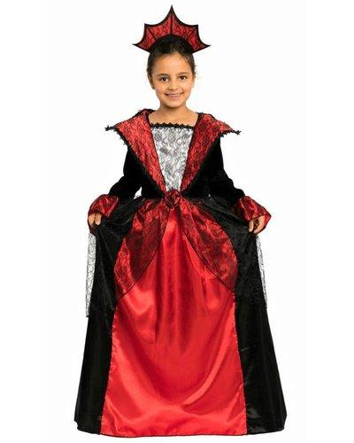 Magicoo Vampier grafin jurk met kroon