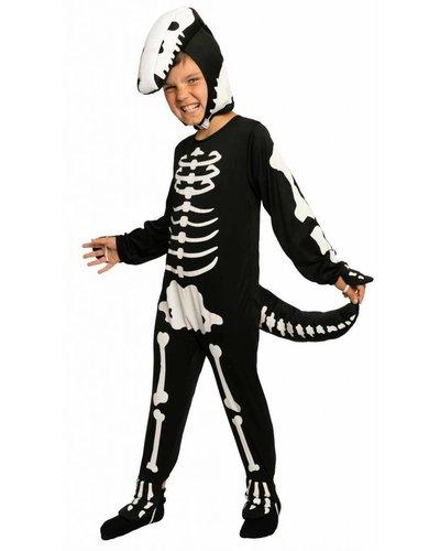 Magicoo Skelet dino kostuum pak voor kinderen