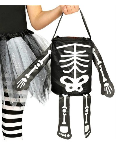 "Magicoo Halloween tas snoepzak ""skelet"""