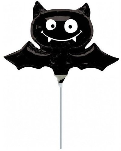 Magicoo Mini Halloween folieballon vleermuis