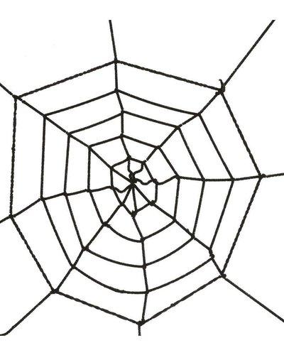 Magicoo Zwart spinnenweb - 60 cm