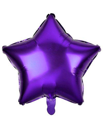 Magicoo Folieballon ster lila - 48 cm