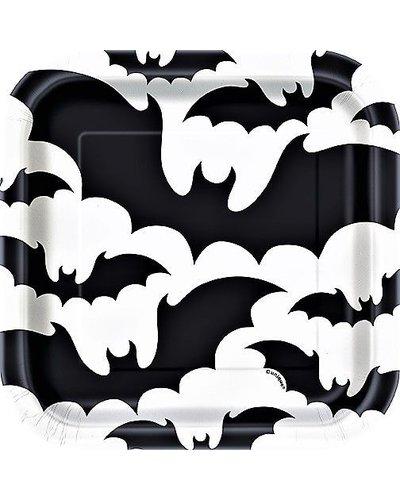 Magicoo 8 deluxe kleine partyborden halloween zwart wit