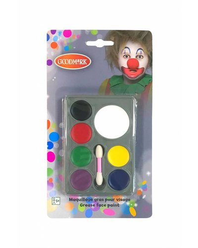Magicoo schminkset met 7 kleuren