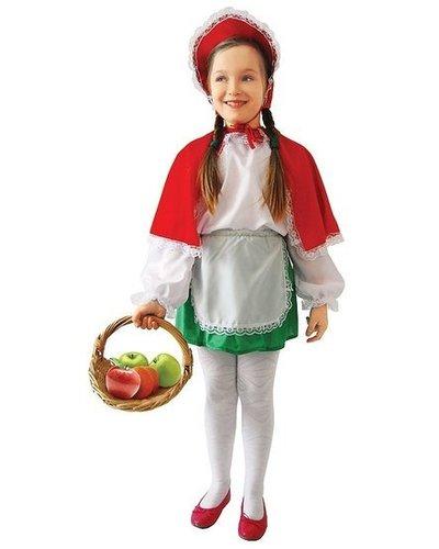 Magicoo Roodkapje kostuum kind