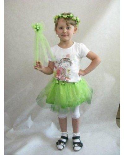 Magicoo Groene lente jurk