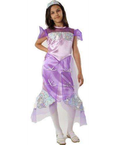 Magicoo Zeemeermin jurk lila kind