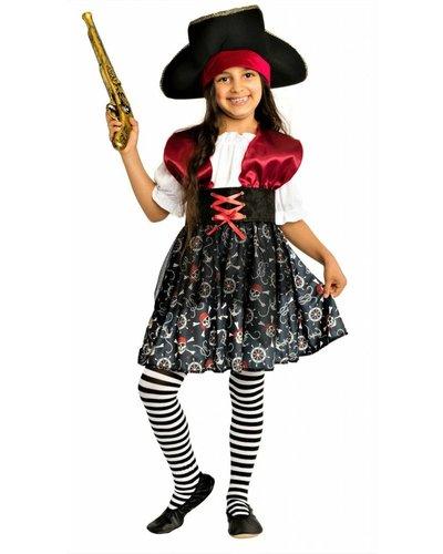 Magicoo Piraten kostuum voor meisjes - prinses van de zee