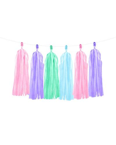 Magicoo Kleurrijke slingers in pastelkleuren