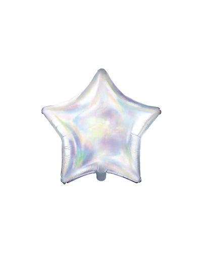 Magicoo Folieballon ster 48cm opaliserend