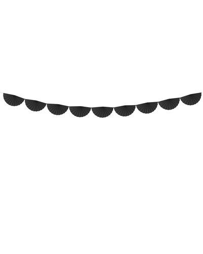 Magicoo Papieren waaier slinger zwart 3m