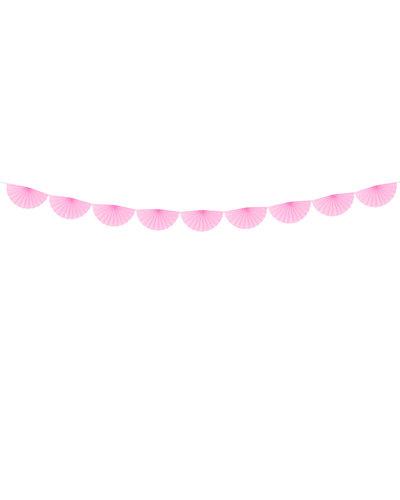Magicoo Papieren waaierslinger roze, 3m