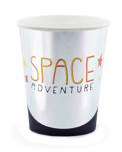 "Magicoo 6 feestbekers ruimte ""Space Adventure"""
