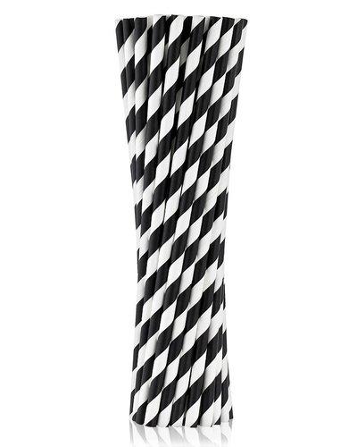 Magicoo Zwarte papieren rietjes