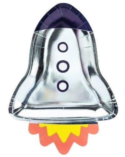 Magicoo Feestbord Space Party Raket