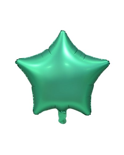 Magicoo Foliebalon satijn groene ster
