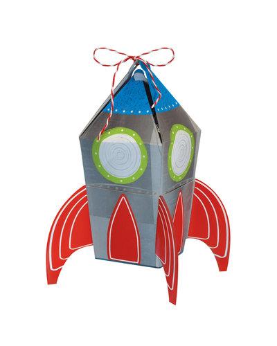 Magicoo 8 papieren geschenkdozen raket