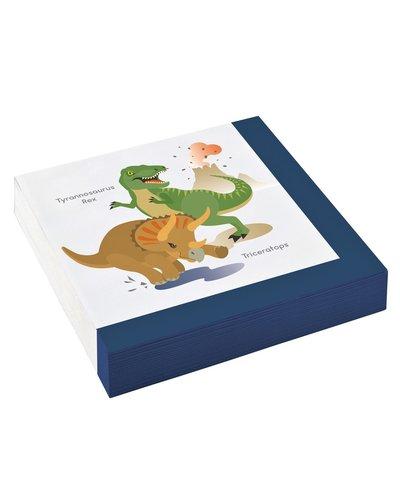 Magicoo 20 Servetten Dinoparty 33 x 33 cm
