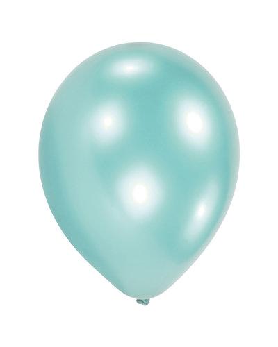 Magicoo 10 latex ballonnen pastel turkoois 27,5 cm / 11 ''