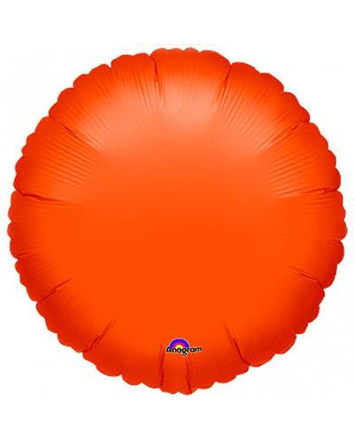 Magicoo Folieballon cirkel oranje
