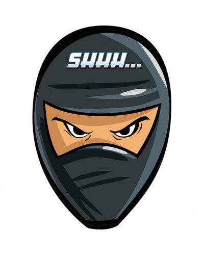Magicoo 8  Ninja uitnodigingen met envelop