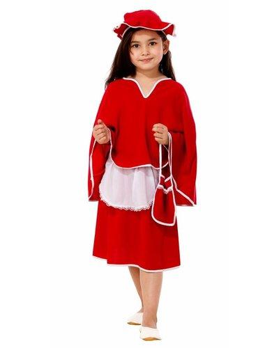 Magicoo Roodkapje kostuum voor kinderen
