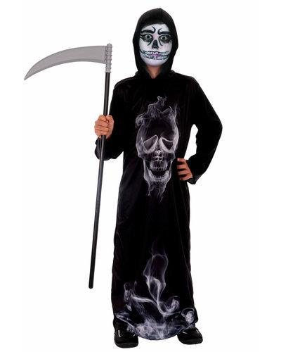 Magicoo Skelet kostuum 'geest' voor kinderen