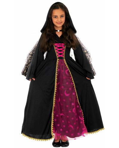 Magicoo Heksen kostuum maankoningin voor meisjes