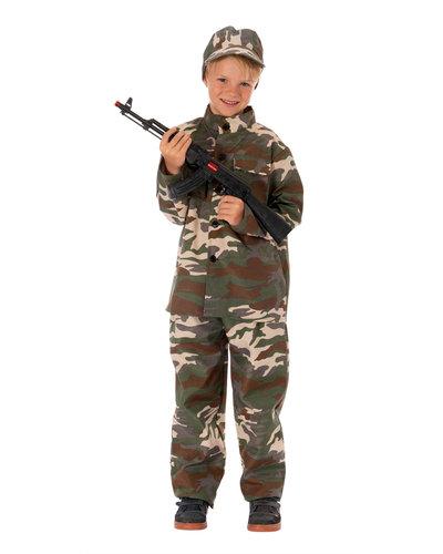 Magicoo Soldaat/jager kostuum voor kinderen