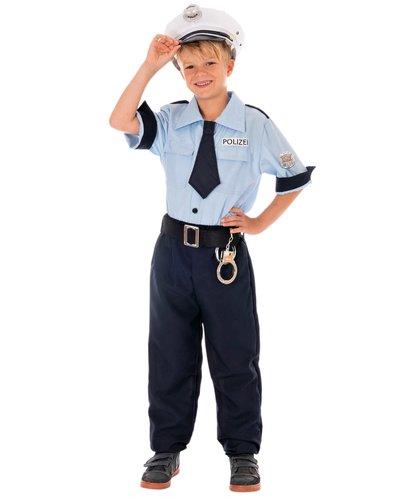 Magicoo Duitse politie kostuum voor kinderen