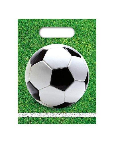 Magicoo Geschenktasjes voetbal groen - 6 stuks