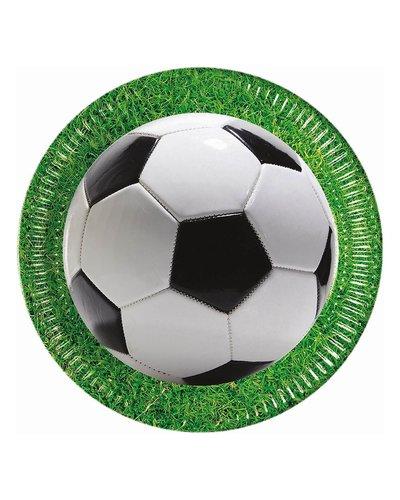 Magicoo 8 papieren borden - voetbal