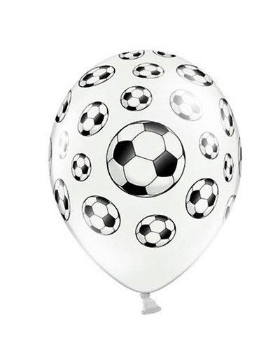 Magicoo 6 latex ballonnen voetbal 30cm