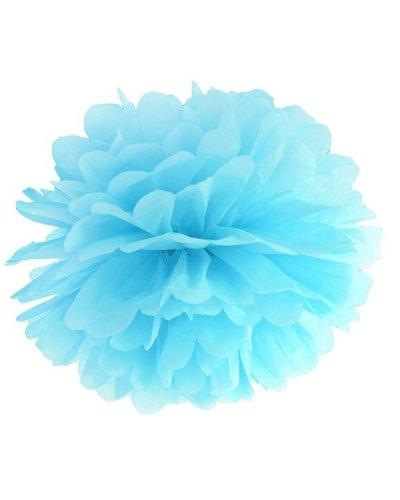 Magicoo Pom Pom sierbal lichtblauw 25 cm