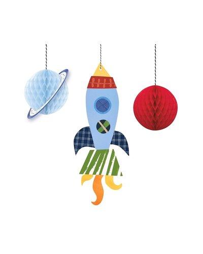Magicoo Hangende decoratie - ruimte - 3 stuks