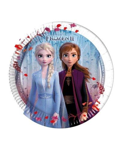 Magicoo Feestbordjes Frozen 2 - 8 stuks