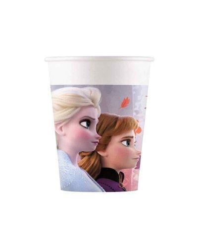 Magicoo Papieren bekers Frozen 2, - 8 stuks
