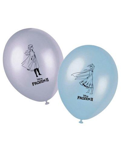 Magicoo 8 latex ballonnen Frozen 2 - 28 cm